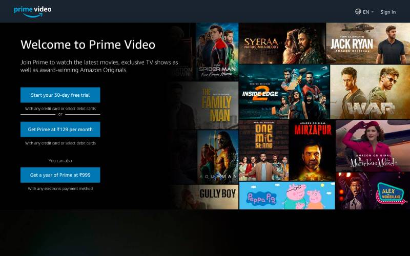 Amazon Prime Video - CouchTuner Movies